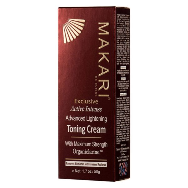 Exclusive Toning Cream Box